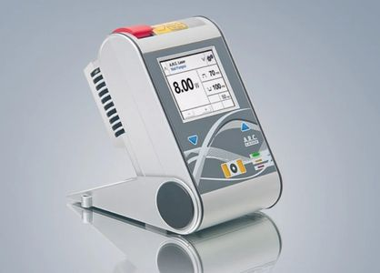 The FOX Diode Laser's compact design is portable.