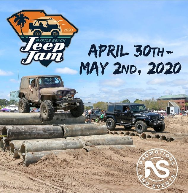 2019 myrtle beach jeep jam - aggressive krawlers