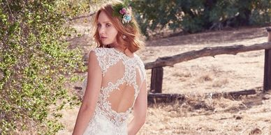 maggie sottero, wedding gown, bridal gown,