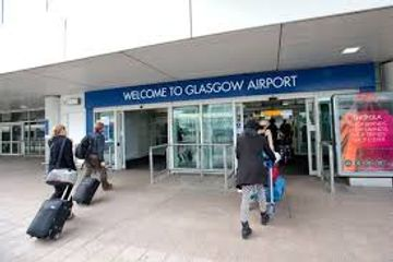glasgow airport 8 seater taxi booking