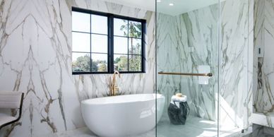 Royal Stone has a large porcelain slab yard in Los Angeles with Italian porcelain slabs from Antolin