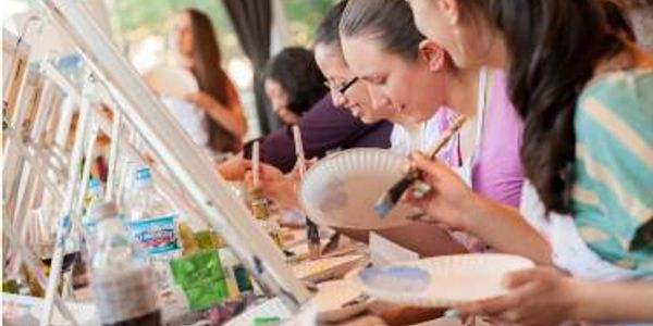Mobile paint and sip parties with Canvas Fiesta in SOFLO
