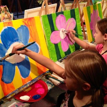 Fun painting parties for kids with Canvas Fiesta