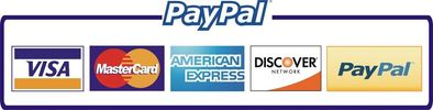PayPal available safe an secure platform