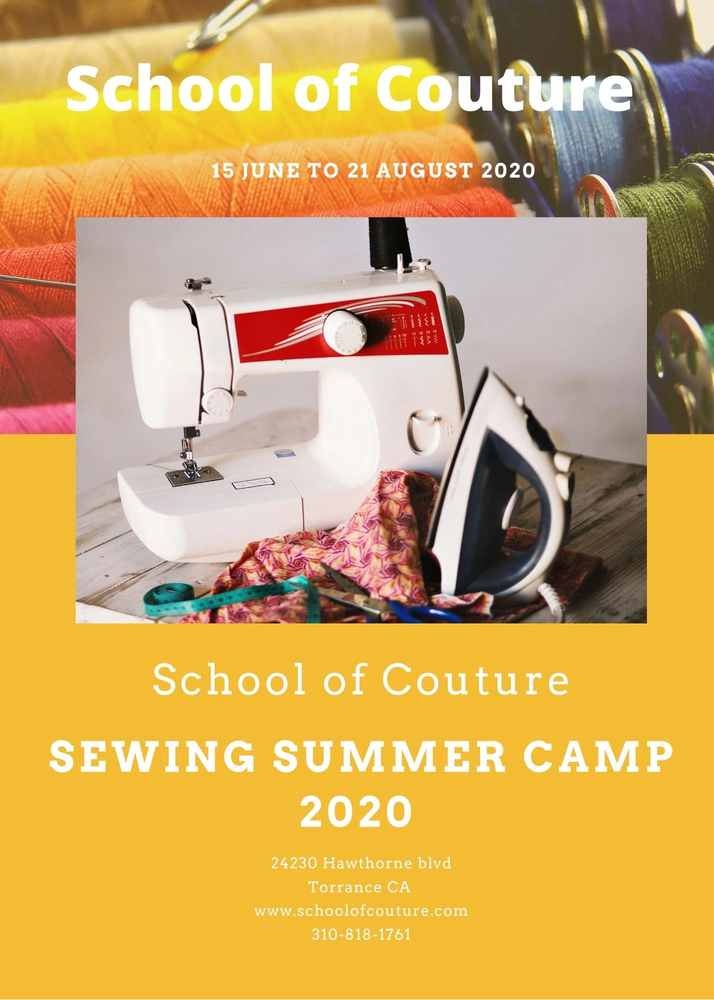 Sewing Classes School Of Couture