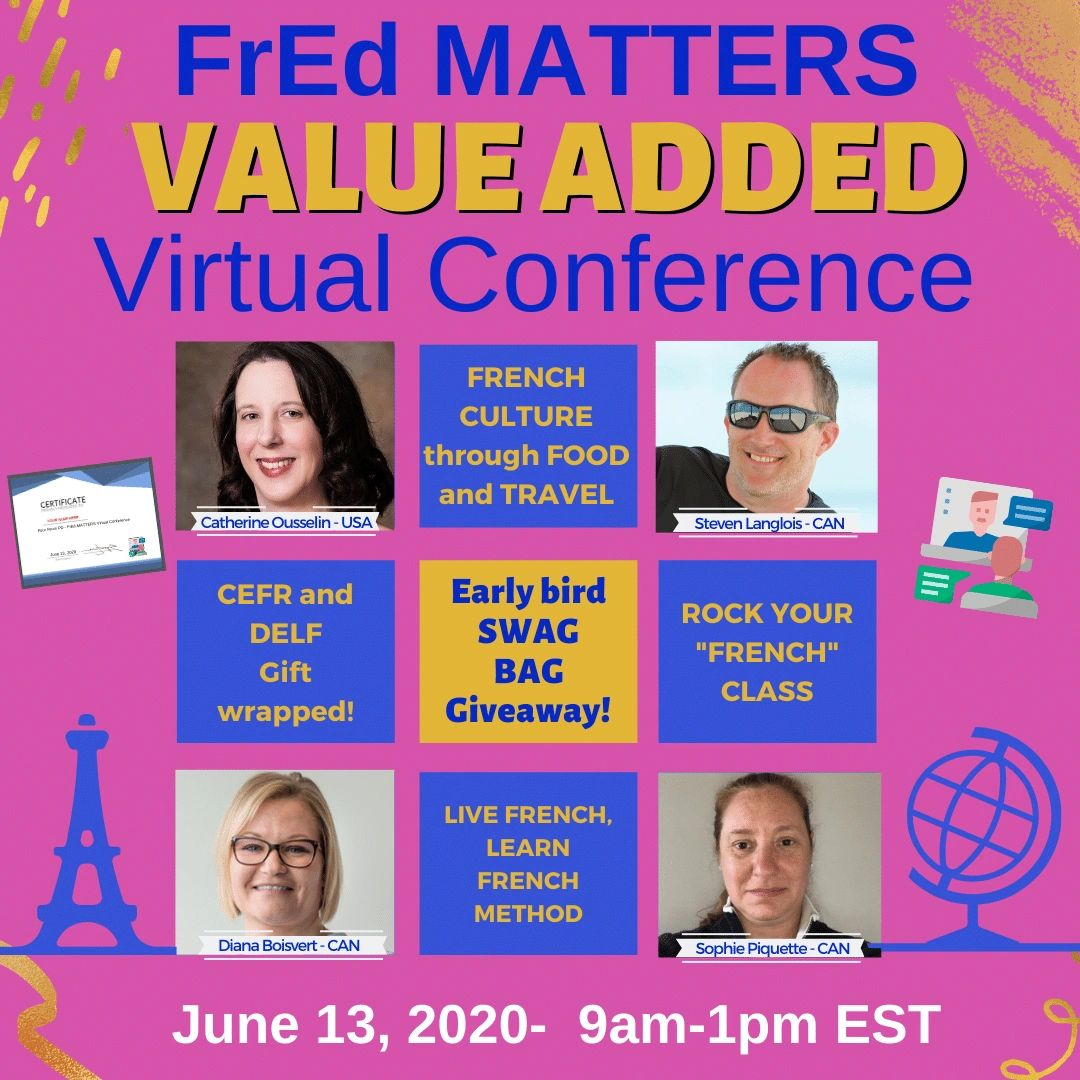 FrEd Matters value added virtual conference
