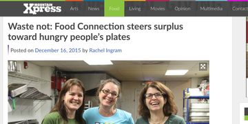 Mountain Xpress, food waste, hunger relief, Food Connection, Celine & Company, Asheville, NC
