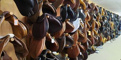 Engish and Dessage saddles of all color and sizes!