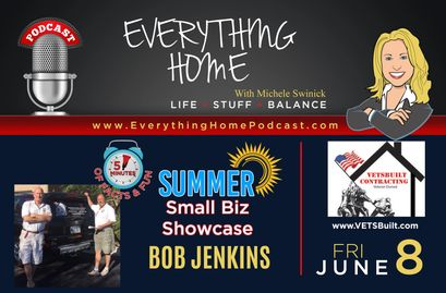 Everything Home Podcast - VETSBuilt Contracting - Bob Jenkins - Veteran Owned Business & Hiring Vets