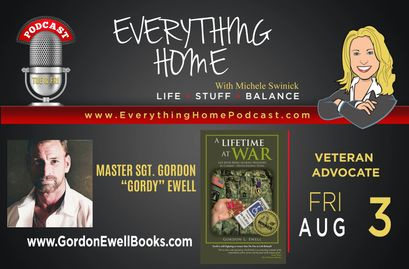 Everything Home Podcast - Master Sgt Gordy Ewell & Helping The People Supporter is our Special Guest