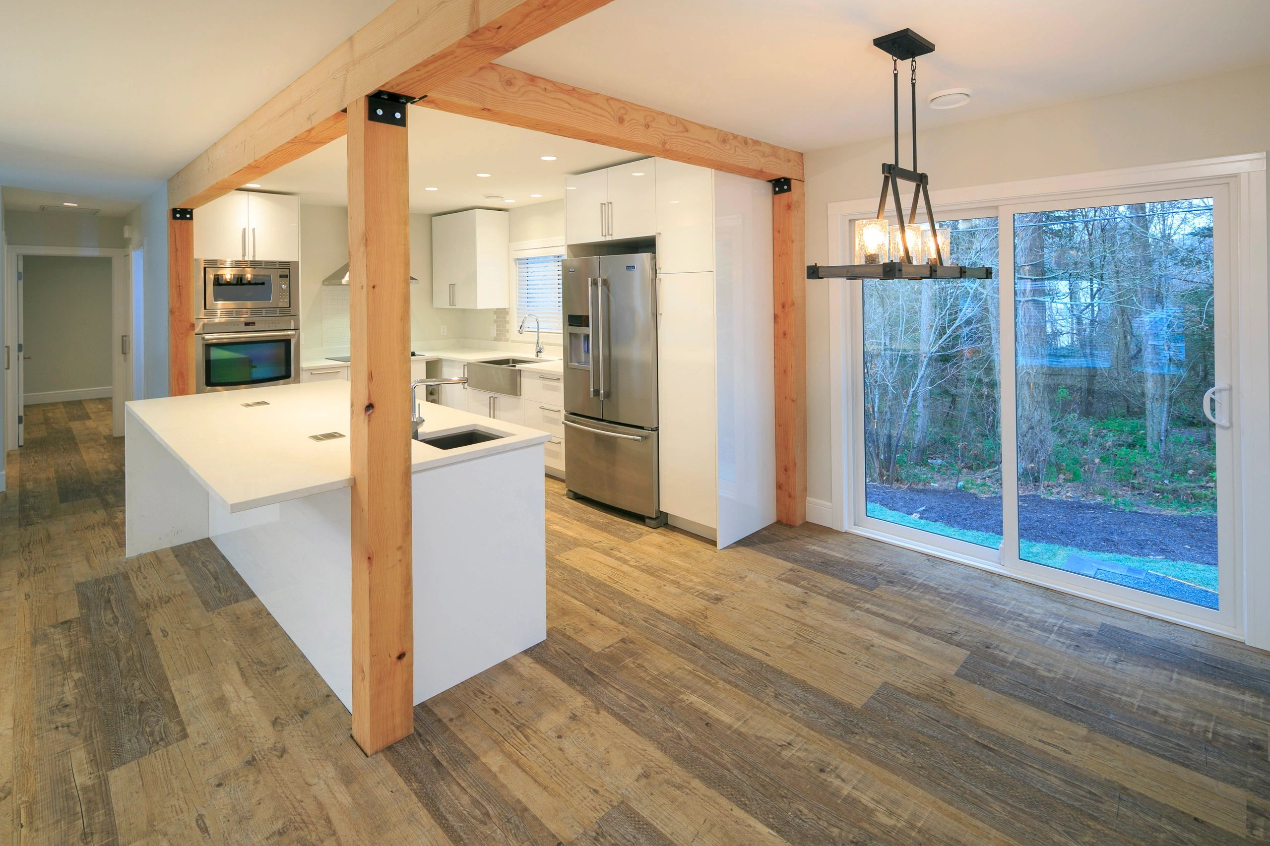 Brookridge Project - Douglas fir Timbers