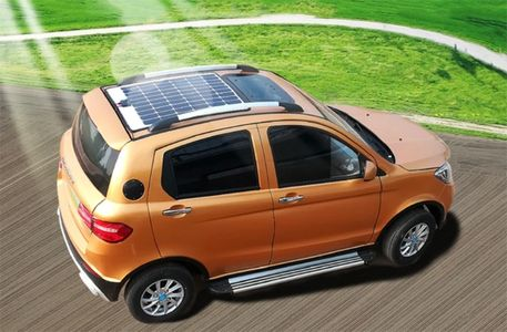 4Q Power NEV LSV Solar 4 door hatchback