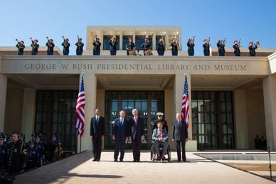 The George Bush Presidential Library