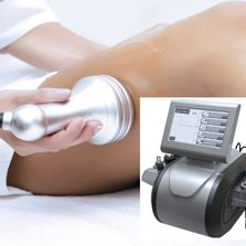 Non-evasive fat removal technology that uses bio-cavitational ultrasound waves and radio frequency..
