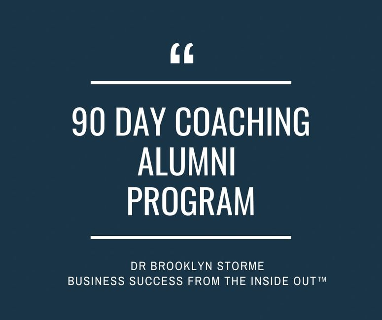 Brooklyn Storme Alumni Program private practice coach online coach
