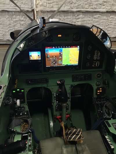 PC-9 Garmin Cockpit Upgrade