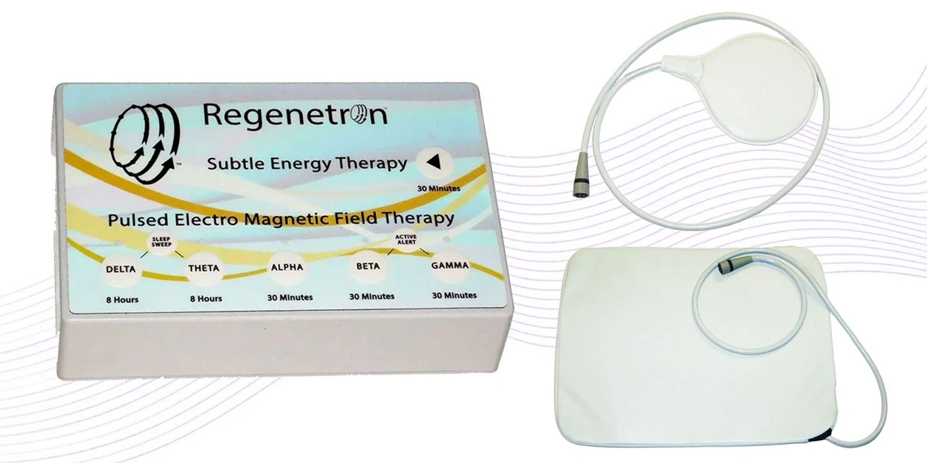 The Regenetron PEMF and Brain Entrainment device