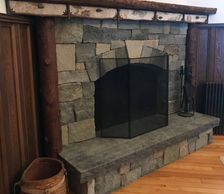 Traditional Style Fireplace Image