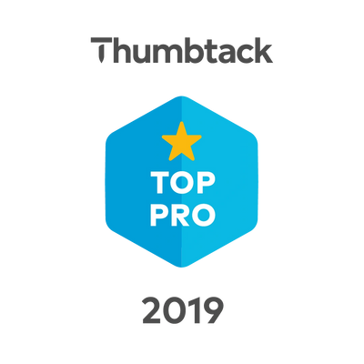 Thumbtack Top Pro award for 2019