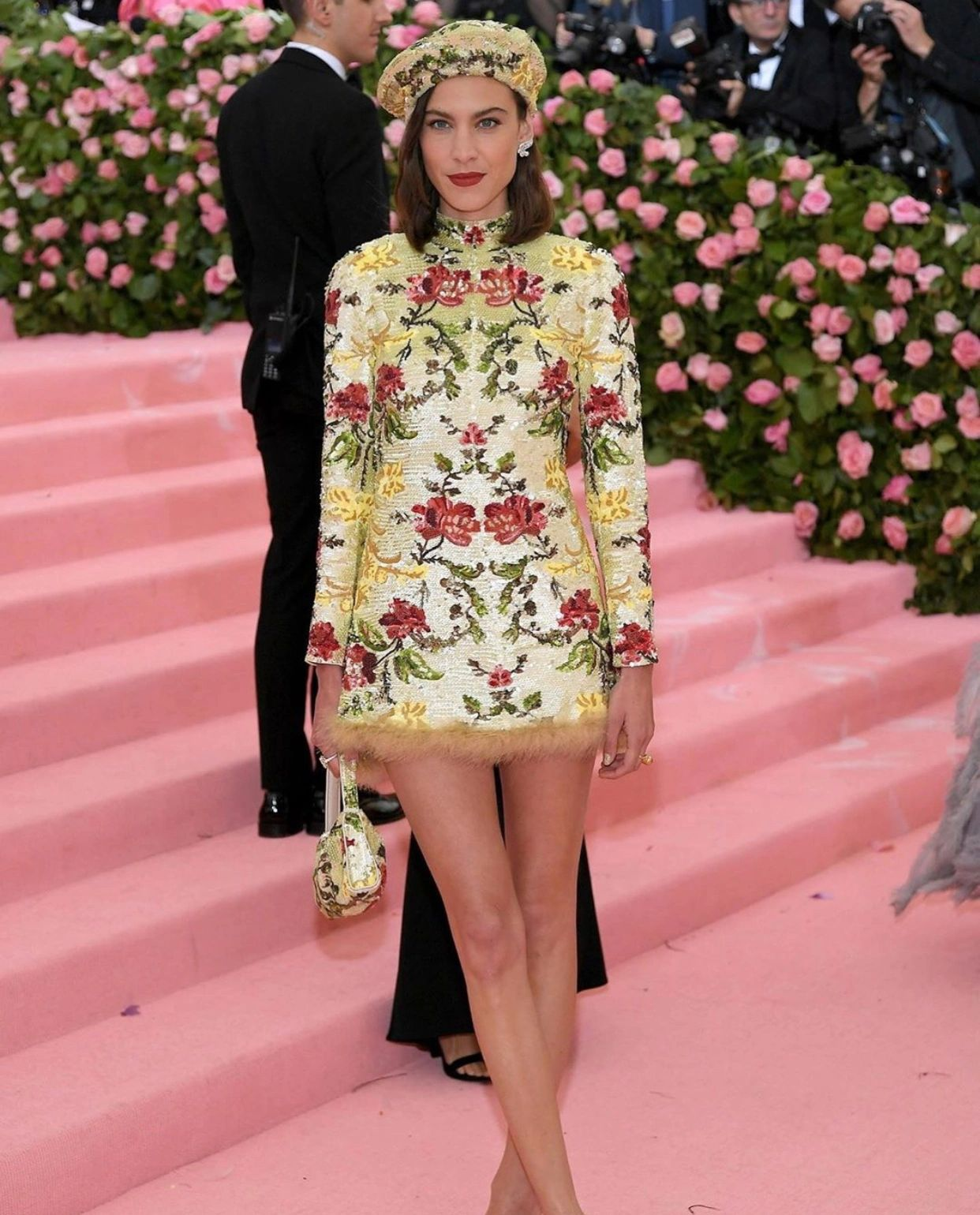 Met Gala, 2019: Alexa Chung. (Getty Images)