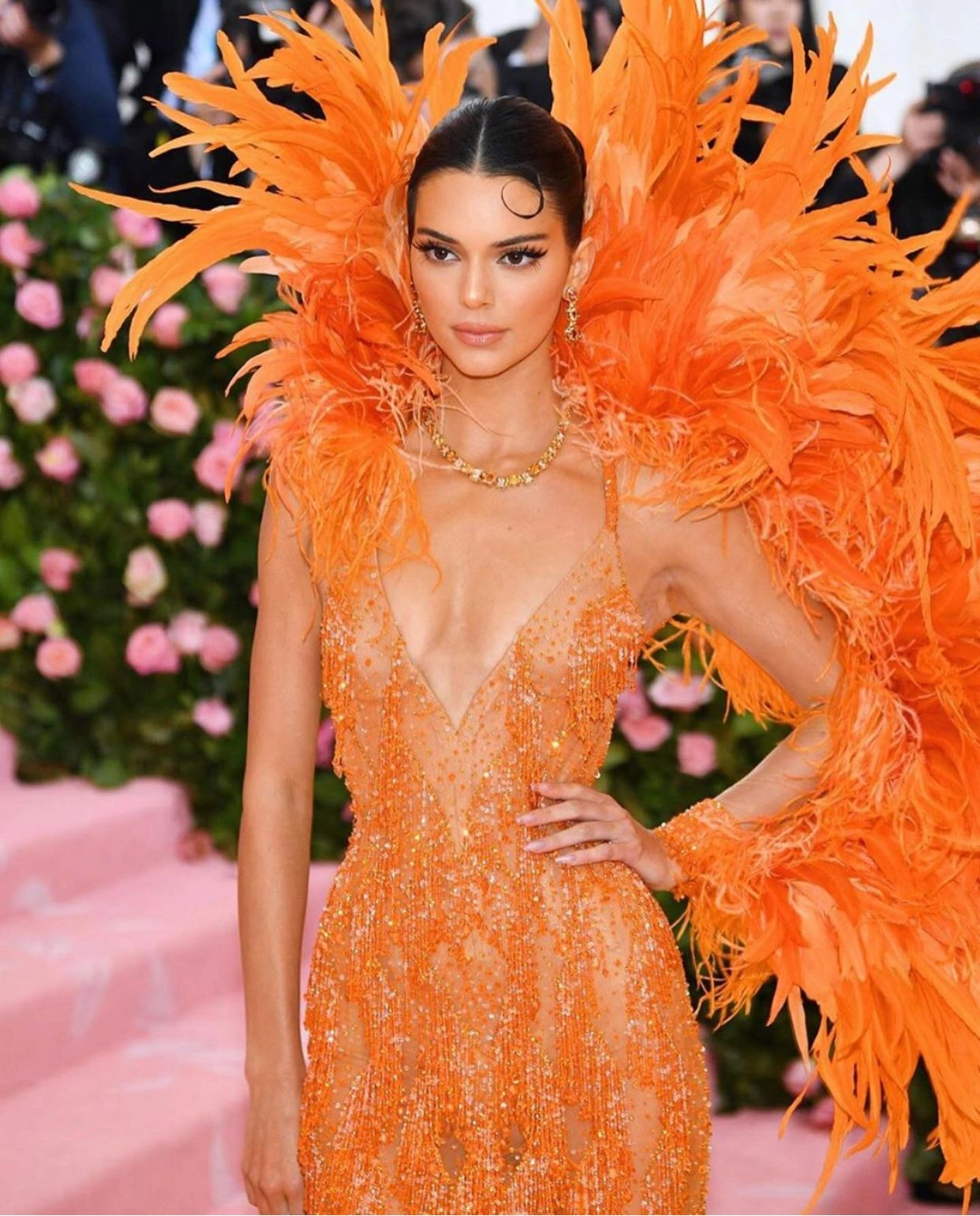 Met Gala, 2019: Kendall Jenner. (Getty Images)