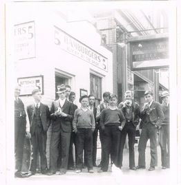 Texas Tavern Grand Opening Feb 13, 1930