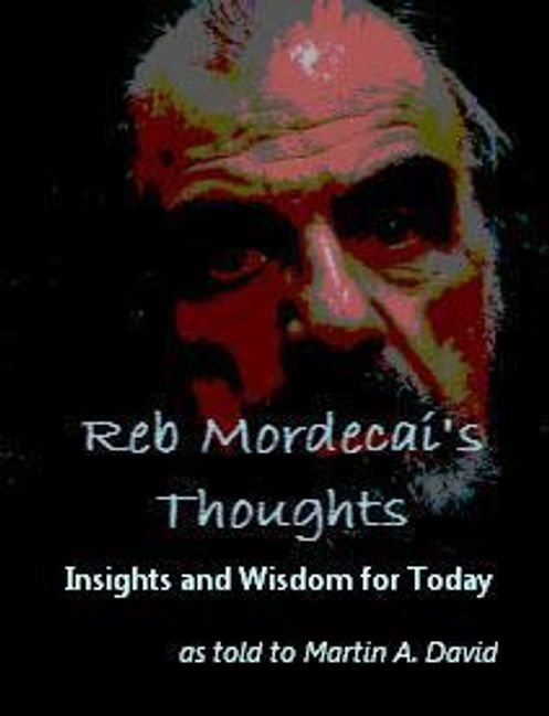 cover of Reb Mordecai's Thoughts