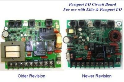 Passport i/o circuit board