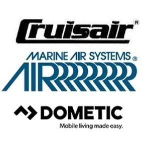 Crusir, Marine Air, Dometic Logo