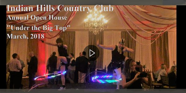 "Indian Hills Country Club ""Under the Big Top"" Event March, 2018"