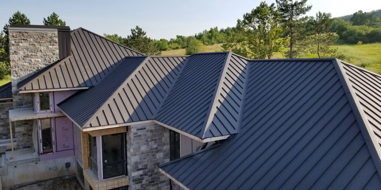 Vicwest Prestige - standing seam metal roofing