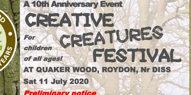 Quaker Wood Creative Creatures Event