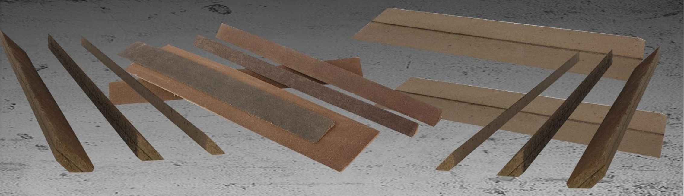 Tapered Edge, Perlite Cant, Fiberboard manufactured to specs