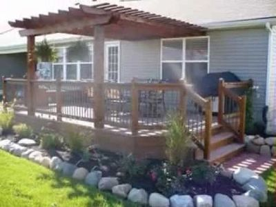 Affordable Handyman Service that builds top quality Decks.