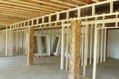 Basement Framing Done By Lafayette Handyman Services.