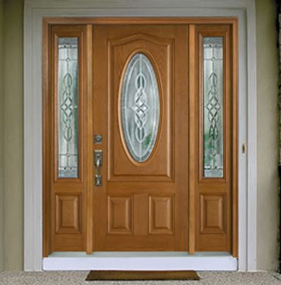 Professional Handyman Services that installs beautiful front doors.