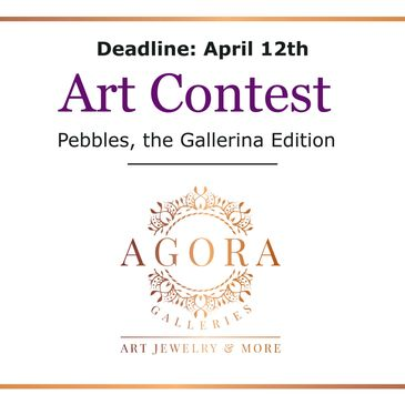 Art gallery contest for Agora Galleries