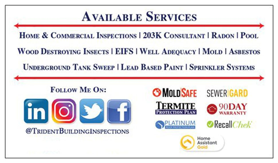 Home Inspection, 203k & Homepath Loan Consultant, WDI Inspection, Radon Test, Commercial Inspection