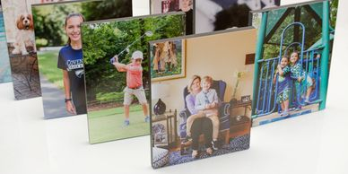 Standouts are a fun way to display your photos.
