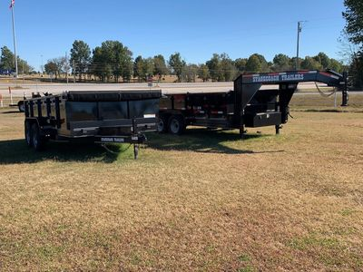 Dump Trailers - Bumper and Gooseneck
