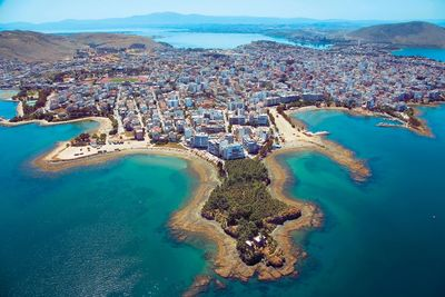 Chalkida town is the gateway to the entire island.
