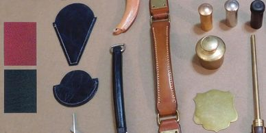 Leather, Hardware and Cloth choices for gun case repairs
