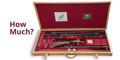 How much does a custom gun case cost?