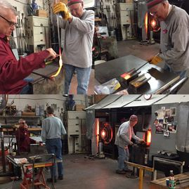 glass blowing, glass lighting, glass awards, memorial glass art, glassblowing class, blown glass art