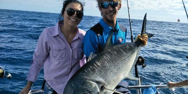 Brisbane Fishing Charters - Giant Trevally