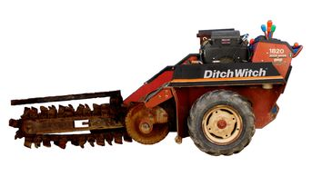 Hillsboro Tool Rental Ditchwitch 1820 Trencher