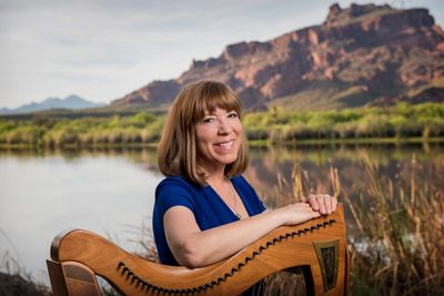 Heavenly Harp Founder, Karin Gunderson