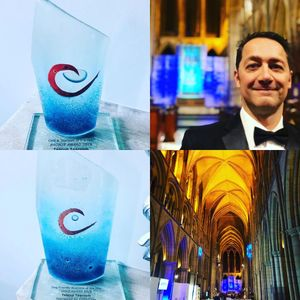 We were delighted to win two awards at the Cornwall Tourism Awards 2019/2020