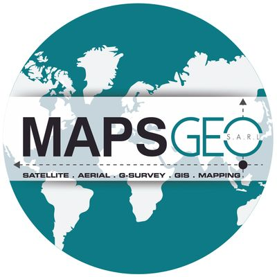 MAPSGEO Earth Logo