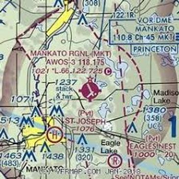 Mankato FAA Sectional Chart
